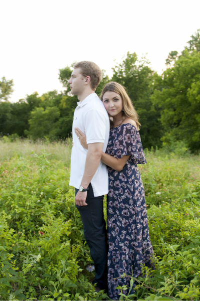 Couple Portrait Outdoors